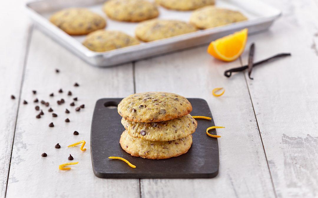 Biscuits Superseed Orange-Chocolat